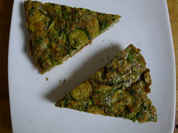 zucchini asparagus kuku