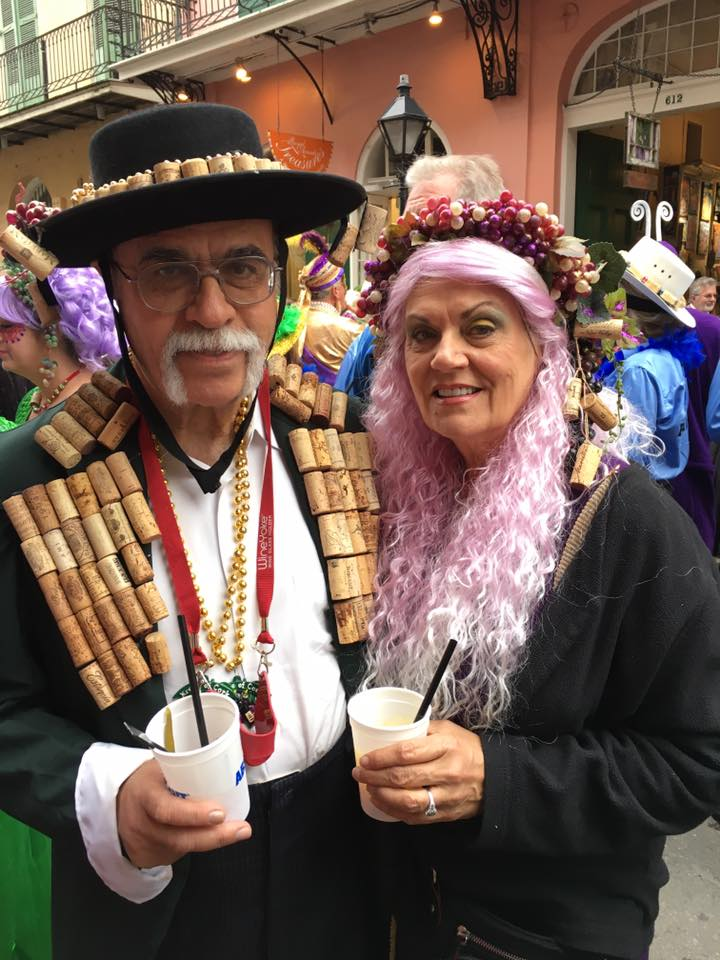 My parents in the Krewe of Cork