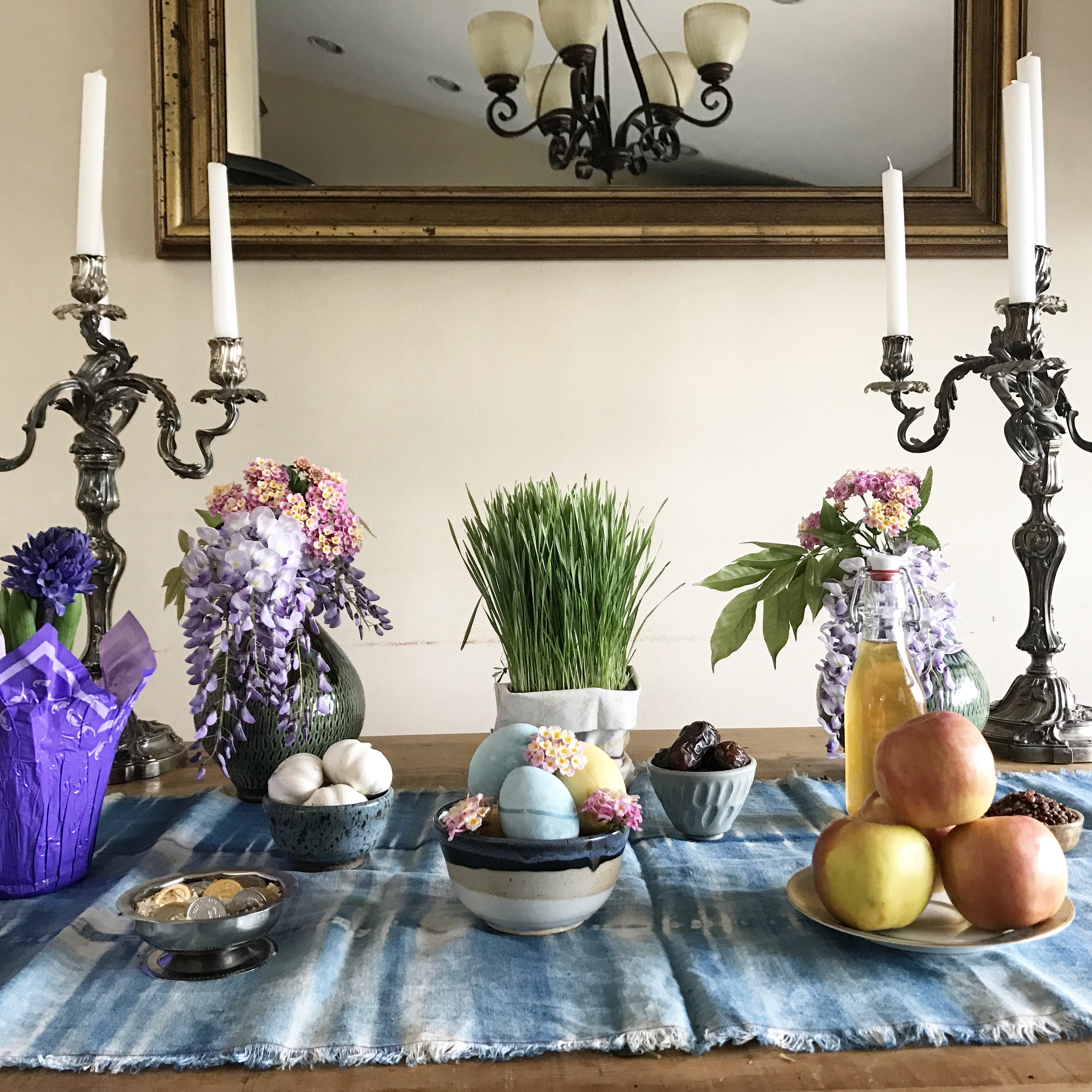 Persian New Year Sofreh Haft Sin