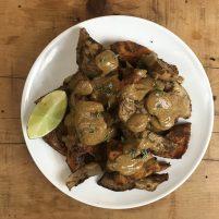 jamaican jerk veggies